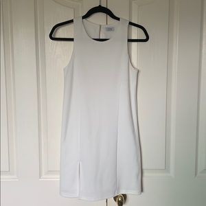 Tobi Dresses - Body Forming White Mini Dress